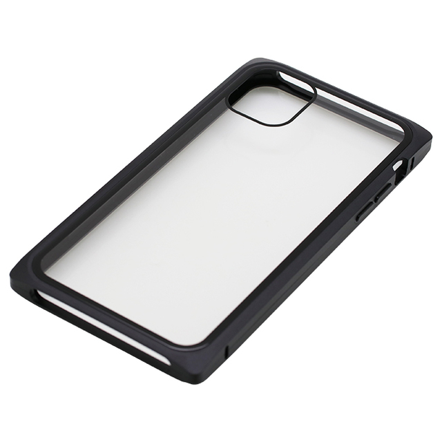 iPhone 11用マグネットアルミバンパーケース